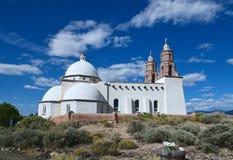 San Luis, Colorado: Kapel van Alle Heiligen stock foto
