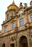 San Luis kościelna fasada w Seville Hiszpania obrazy royalty free
