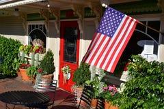 San Luis Obispo, ΗΠΑ - 14 Ιουλίου 2016: αγροτικό ξενοδοχείο μήλων Στοκ Φωτογραφίες