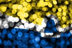 San Luis Obispo, drapeau trouble abstrait de bokeh de la Californie Noël, nouvelle année et drapeau de concept de jour national L illustration de vecteur