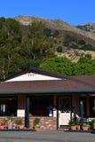 San Luis Obispo, EUA - 14 de julho de 2016: cidade pitoresca no verão Fotografia de Stock