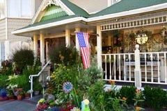 San Luis Obispo, EUA - 14 de julho de 2016: hotel da exploração agrícola da maçã Foto de Stock Royalty Free