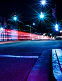 San Luis Obispo na noite Fotografia de Stock