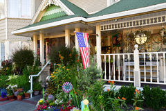 San Luis Obispo, USA - juli 14 2016: äpplelantgårdhotell Royaltyfri Foto