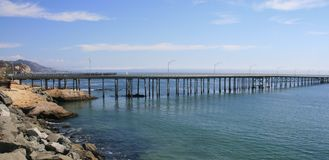 San Luis Pier Royalty Free Stock Photo