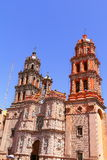 San luis potosi cathedral Royalty Free Stock Photography