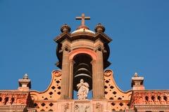 San Luis Potosi cathedral detai. San Luis Potosi cathedral bells detail royalty free stock photography