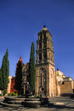 San luis potosi church royalty free stock images