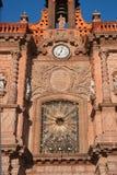 San Luis Potosi domkyrkadetalj Arkivbild