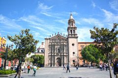 San Luis Potosi downtown Royalty Free Stock Image