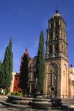 San luis Potosi-Kirche stockbilder