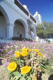 The San Luis Regional Mission Church de Francia in San Diego California Stock Photography