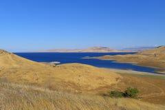The San Luis Reservoir Royalty Free Stock Photos