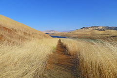 The San Luis Reservoir Stock Image