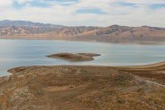 San Luis Reservoir Stock Photo