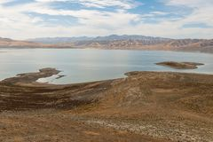 San Luis Reservoir Royalty Free Stock Photo