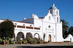 San Luis Rey de mission Images stock