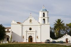 San Luis Rey Mission Stock Photo