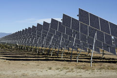 San Luis Valley Solar Energy. The San Luis Valley is an alpine desert environment which is conducive to solar energy production. It has the highest per capita Stock Photography