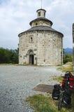 San lunta, kyrka nära Almenno Royaltyfri Foto