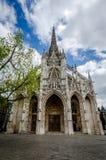 San-Maclou di Rouen della cattedrale Fotografia Stock