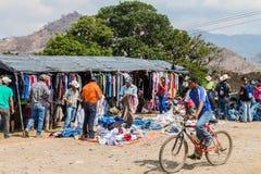 SAN MANUEL DE COLOHETE, HONDURAS - APRIL 15, 2016: View of a market. There is a big market in this village twice a mont. H stock photos