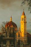 San Manuel & San Benito Church. In Madrid, Spain stock images