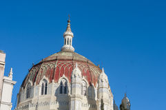 San Manuel and San Benito Church in Madrid, Spain Royalty Free Stock Image