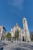 San Manuel and San Benito Church in Madrid, Spain stock photo