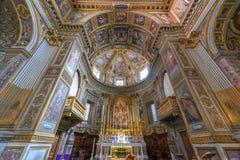San Marcello al Corso Church - Rome, Italien royaltyfri fotografi