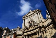 San Marcello al Corso i Rome arkivfoto