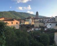 San Marcello, Pistóia, Italia foto de archivo libre de regalías