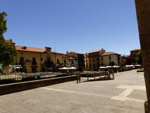 SAN MARCELO SQUARE, LEON, SPAIN, EUROPE royalty free stock photos