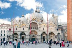 San Marco Basilica Royalty Free Stock Images