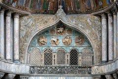 San Marco Basilica facade Royalty Free Stock Images