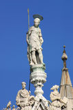 San Marco Basilica - Fragment. Venice, Italy. Stock Photography
