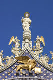 San Marco Basilica - Fragment. Venice, Italy. Stock Image