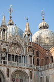 San Marco Basilica. Royalty Free Stock Photos