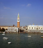 San Marco basilica and square Stock Photo