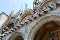 San Marco Basilica a Venezia Immagini Stock Libere da Diritti