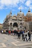 San Marco basilica, Venice royalty free stock photos