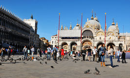San Marco basilica in Venice Stock Photos