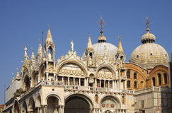 San Marco Basilica Royalty Free Stock Photography