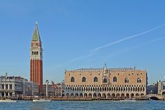 San Marco Basin. Some of the most beautiful part of Venice Italy Royalty Free Stock Images