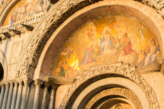 San marco bazyliki Obrazy Stock