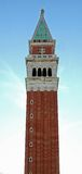 San Marco Bell Tower. A San Marco Bell Tower view royalty free stock photography