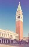 San Marco Bell tower, Venice Royalty Free Stock Images