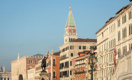 San marco bell tower Stock Photography