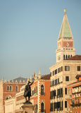 San marco bell tower Royalty Free Stock Image