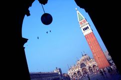 San Marco Campanile Royalty Free Stock Photo